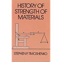 History of strenght of materials (Dover Civil and Mechanical Engineering)