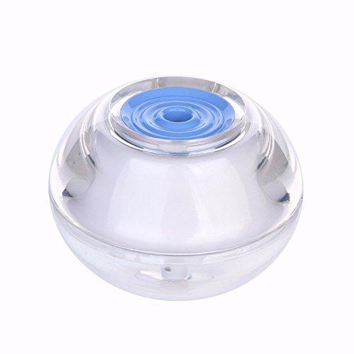 ThreeH USB Air Humidifier yeux nez gorge peau - mini-portable diffuseur silencieux arôme nightlight - l'assurance d'arrêt automatique H-H012Blue