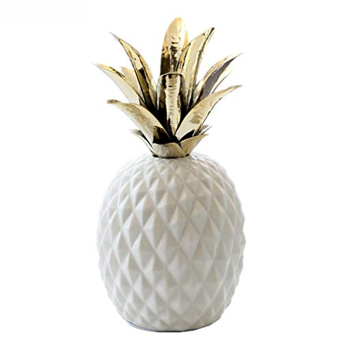"""OYQQ Schmuck 10,2\""""26cm dekorative Ananas, kreative Fruchtmodell Hauptdekoration-Zusatzgeschenke"""