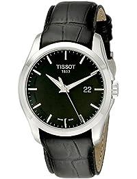 Tissot Herren-Armbanduhr COUTURIER Leder T0354101605100