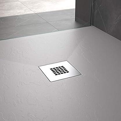 418179dgNoL. SS416  - Plato de Ducha Resina Pizarra Stone - Antideslizante y Rectangular - Todas las medidas disponibles - Incluye Sifón y Rejilla
