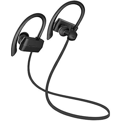 Sunvito auricolare Bluetooth, cuffie Wireless Bluetooth 4.1 v Sweatproof Sport