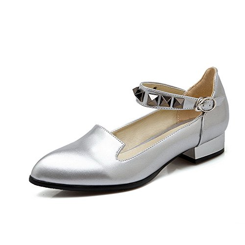 allhqfashion-womens-patent-leather-pointed-closed-toe-low-heels-buckle-solid-pumps-shoes-silver-41