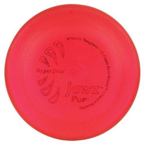 Hyperflite Hunde Frisbee Jawz bissfest für den kleinen Hund MANGO/ROT