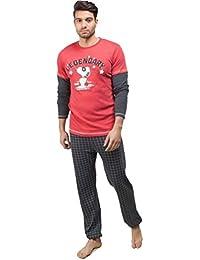 GISELA Pijama de Hombre Snoopy 2/1562 - Marengo, S