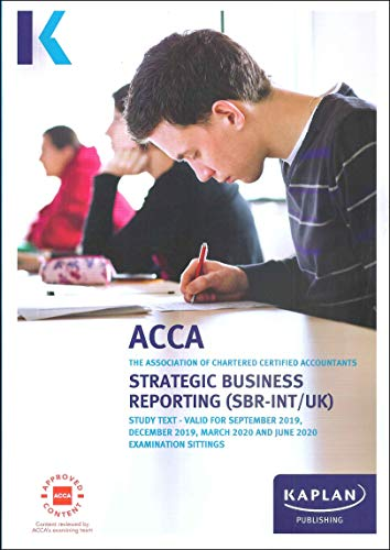 STRATEGIC BUSINESS REPORTING - STUDY TEXT