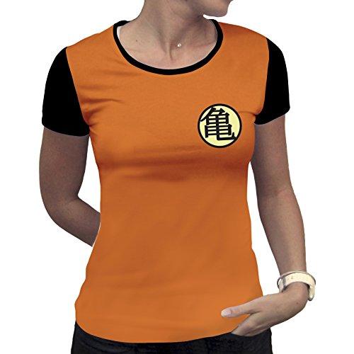 DRAGON BALL - T-Shirt PREMIUM Kame Symbol GIRL (L) : TShirt , ML