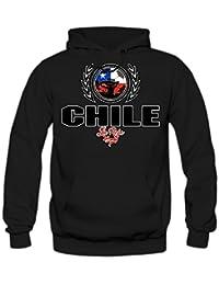 Shirt Happenz Fútbol Chile V2 Sudadera con Capucha | Hombre | Fútbol | Equipo Nacional |