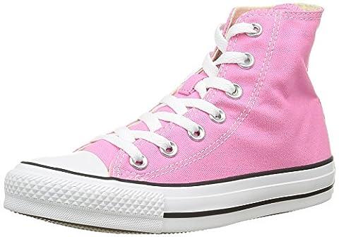 Converse Ctas Core Hi 015860-70-13 , Unisex - Erwachsene Sneaker, Pink (Rose), EU 38