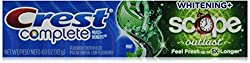 Crest Crest Extra White Plus Scope Outlast Toothpaste Long Lasting Mint, Long Lasting Mint 4 Ounce