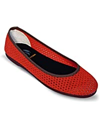 SCENTRA Women Red Canvas Shoes