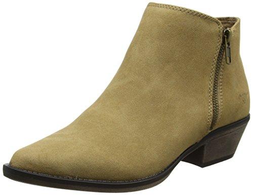 Rocket Dog Damen Akron Cowboy Stiefel, Beige (Natural), 38 EU (Damen Rocket Dog-stiefel)