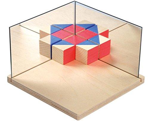 Betzold 85851 - Multi-Geometrie-Spiegel - Symmetrie und Geometrie, Mathematik-Unterricht,...