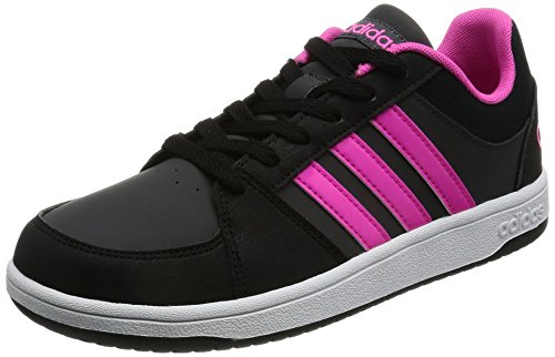 adidas VS HOOPS K B74673 Mädchen Schnürhalbschuh sportlicher Boden dgh solid grey