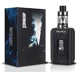 Cigarette Electronique, E Cigarette TC 200W Box Mod, de remplissage par le haut Atomiseur 0.2ohm Réservoir 2ml, Intégré Batterie 4600mAh, Contrôle de la Température,sans nicotine ni Tabac