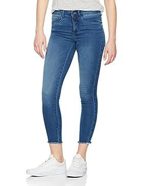 ONLY Damen Jeanshose Onlroyal Reg Sk Ank Raw Jean Pim504 Noos