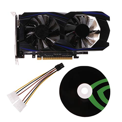 Cutebility GTX960 4GB DDR5 128Bit Gaming Graphics Card PCI Express 3.0 HDMI VGA DVI Video Card for Computer PCI -E GPU for NVIDIA Geforce Games (Nvidia Radeon)