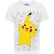 Pokèmon - Camiseta Modelo Pikachu para niños ...