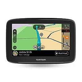 TomTom Go Basic Navigatore per Automobile, con Aggiornamenti tramite WiFi, Traffic a Vita e Mappe a Vita per 48 Paesi, TomTom Roadtrips