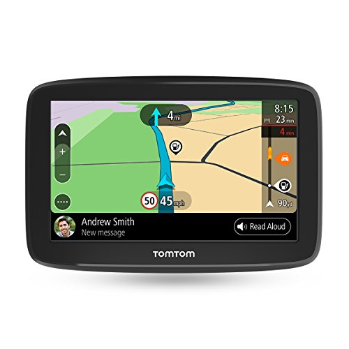 TomTom GO Basic - Navegador para Coche de 5' (actualizaciones Mediante Wi-Fi, Traffic y mapas de 48 países para Toda la Vida y Roadtrips)