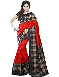 Winza Designer Womens Printed Art Silk Daily Wear With Blouse Saree