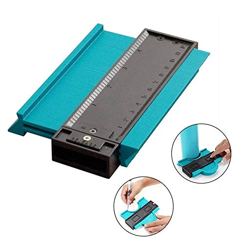 Yeying123 5 ' ' Profil Contour Gauge Duplicator Tiling Laminat Edge Shaping Measure Ruler Craft Tool,D