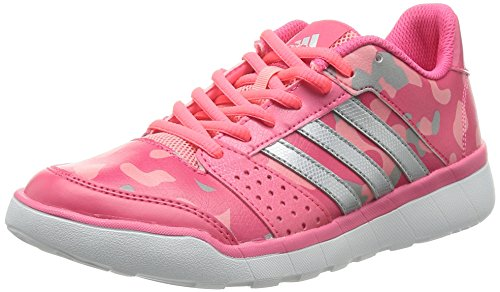 half off f8aab a7eb7 Course Chaussures Adidas Fun Pink Femme De Essential vwpx1