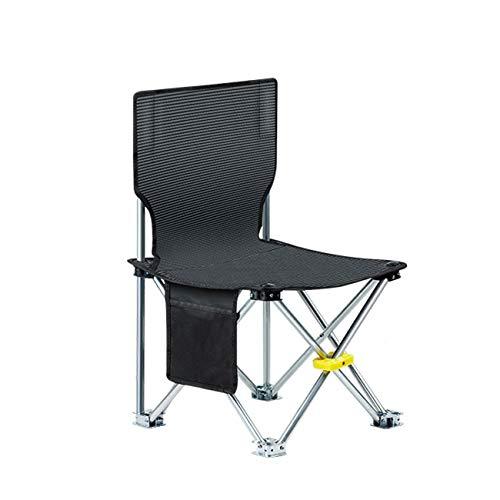 LITTLEREDFOX Tragbarer Klappstuhl-Licht-Strand-Stuhl-Metallfüße im Freien beweglicher kampierender Stuhl Multi-Size wahlweise freigestellt (größe : S)