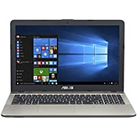 Asus F541UV-DM890T 39,62 cm (15,6 Zoll mattes FHD) Notebook (Intel Core i3-6006U, 8GB RAM, 256GB SSD, NVIDIA GeForce 920MX, DVD-Laufwerk, Win 10 Home) schwarz