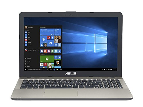 Asus F541NA-GQD33T 39,62 cm (15,6 Zoll matt) Notebook (Intel Celeron N3350, 8GB RAM, 1TB HDD, Intel HD Graphics, DVD-Laufwerk, Win 10 Home) schwarz