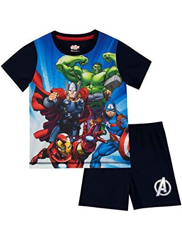 2b0bfa7e49 Marvel Avengers Pijamas Manga Corta niños Vengadores