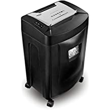 Duronic (Certified Refurbished) PS991 High Performance Cross-Cut 18-Sheet Credit Card CD A4 Paper Shredder for The Home or Office - Large 31 Litre Waste Collection bin