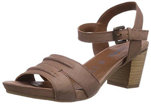 Marc Shoes 1.443.06-21/400-joana, Sandales à bride femme Marron - Braun (cafe 400)