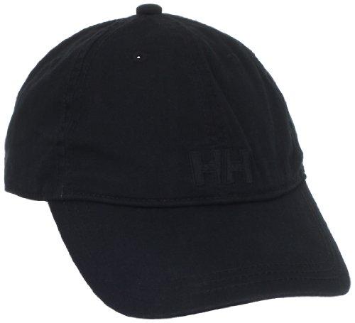 Helly Hansen Logo Cap - Gorra unisex, color negro, talla única