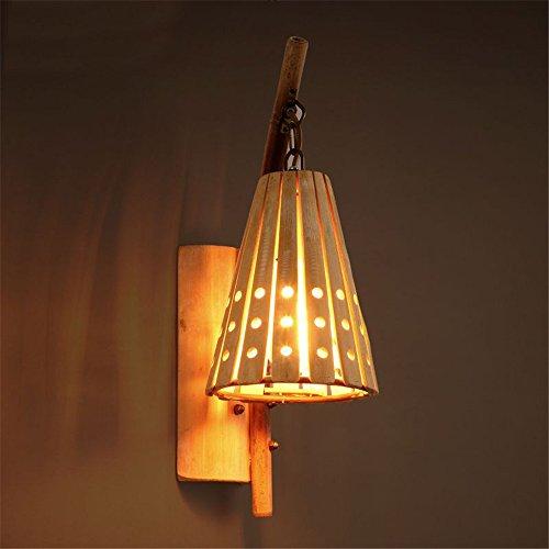 Wandleuchte Wachs Kerze (JJZHG Wandleuchte Wandlampe Wasserdicht Wandbeleuchtung Rustikale Wachs Tischwand Kaffee Schlafzimmer Wandleuchte kreative Bar Gang Wandleuchte beinhaltet: Wandlampe,stoere wandlampen)
