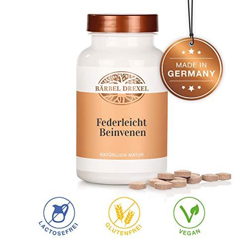 BÄRBEL DREXEL Kiefernrindenextrakt Federleicht Presslinge (180 Stk) 100% Vegane Herstellung Deutschland Magnesium Vitamin C -