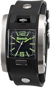 Bench - BC0367SLBK - Montre Homme - Quartz - Analogique - Bracelet