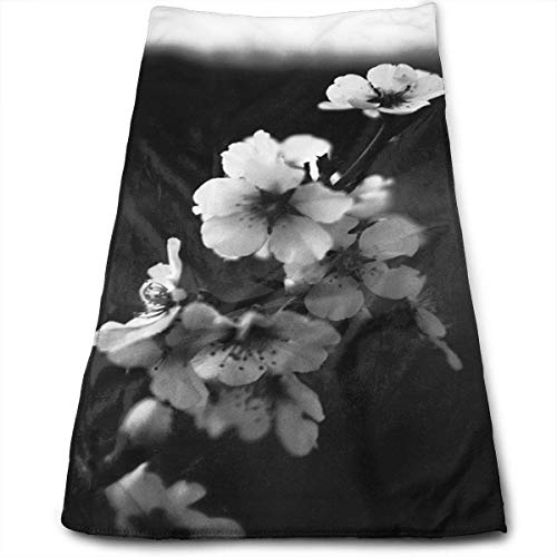 8211186bacb29 hat pillow The Plum Blossom in The Black and White World. 100% Cotton Towels