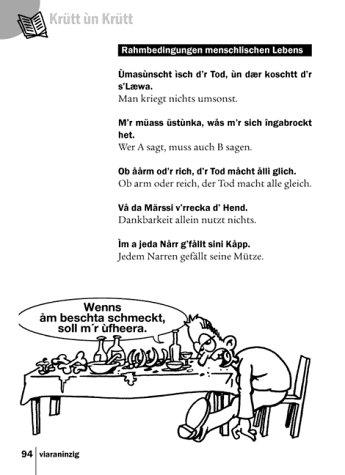 Kauderwelsch, Elsässisch, die Sprache der Alemannen