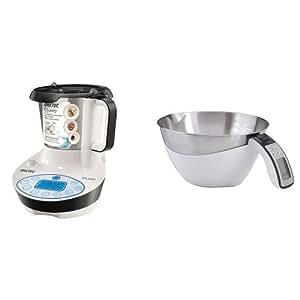 Imetec Cooking Machine CUKO' + Imetec 7786 Dolcevita ES 4 Bilancia Elettronica da Cucina