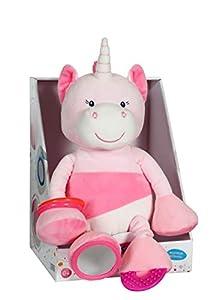 Gipsy Unicornio Peluche, 70862, Blanco/Rosa, 25cm