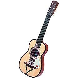 Claudio Reig - Guitarra española, imitación madera, en bolsa y pestaña (287)