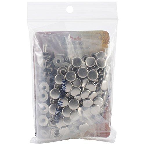 Leder-nieten-cap (Tandy Leder Factory Rapid Nieten .3125-inch 100/pkg-nickel-plated, andere, Mehrfarbig)