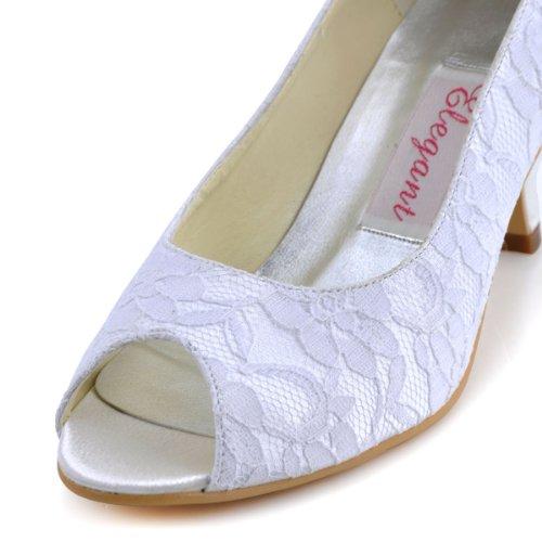 Elegantpark ,  Scarpe col tacco donna Bianco (bianco)