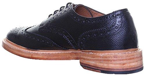 Reece Justin Dylan renforcées en cuir GoodYear mat pour chaussures Noir - Black AG7