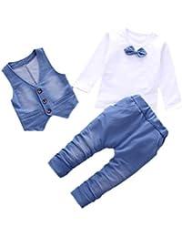 Amazon.es: chandal niño - Blanco / Niños de hasta 24 meses / Bebé ...