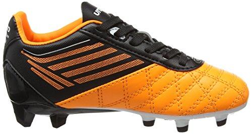 Umbro Jungen Medusæ Club Hg Jnr Fußballschuhe Orange (Epy Orange Pop/White/Black)