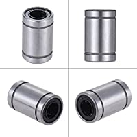 AARYA 3D LM8UU 8 mm Linear Ball Bearing for 3D Printer RepRap Prusa CNC Parts -4 Pieces