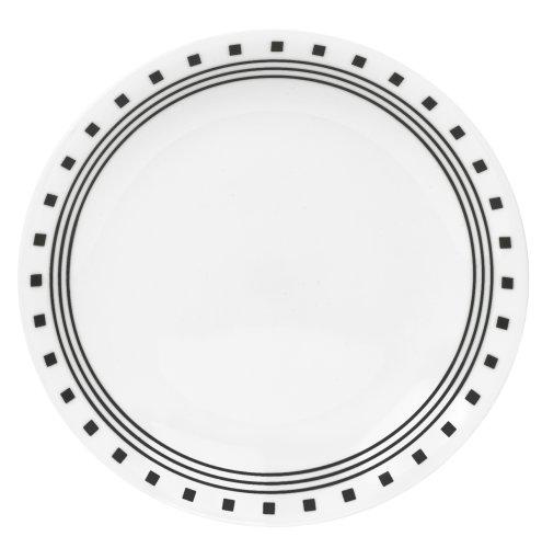 Corelle Livingware 8-1/2-Inch Luncheon Plate, City Block by CORELLE Corelle City-block