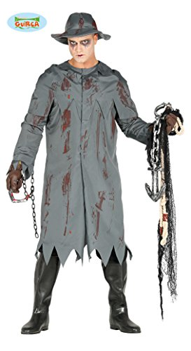 Imagen de disfraz de pescador zombie para hombre